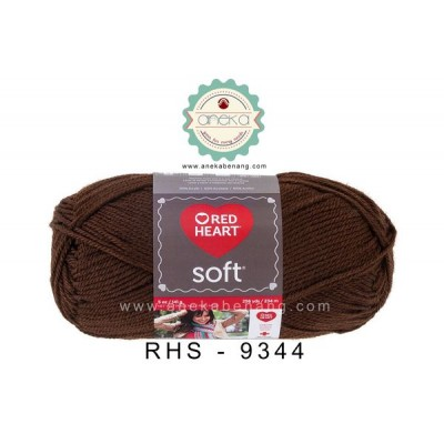 Red Heart Soft #9344 (Chocolate)